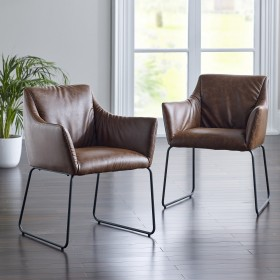Sodra Dining Chair - Tan (Pair)