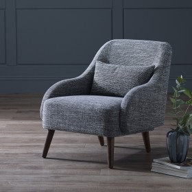 Flena Armchair - Grey