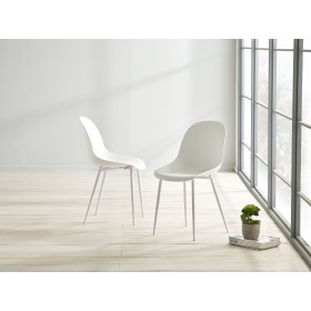 Glostrup Dining Chair - White (Pair)
