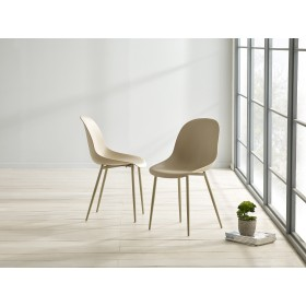 Glostrup Dining Chair - Taupe (Pair)