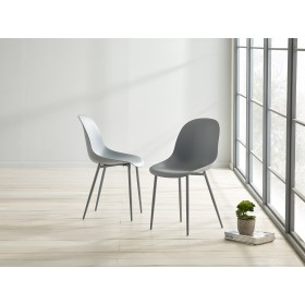 Glostrup Dining Chair - Cool Grey (Pair)