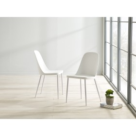 Herlev Dining Chair - White (Pair)