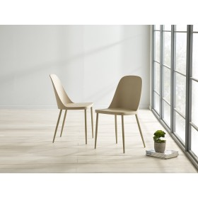 Herlev Dining Chair - Taupe (Pair)