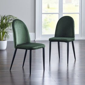 Pedja Dining Chairs - Teal (Pair)