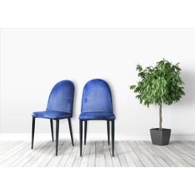 Pedja Dining Chairs - Midnight Blue (Pair)