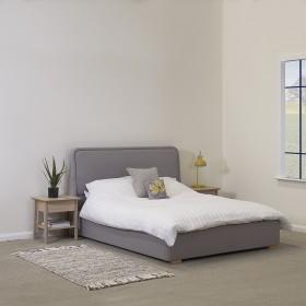 Vaxan Double Bed Grey