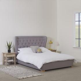 Getan Double Bed Grey