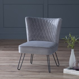 Tarnby Chair Seal Grey