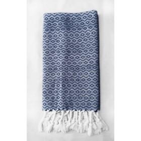 Inari Throw - Navy Blue