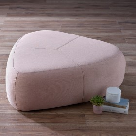 Laan Large Footstool - Pink