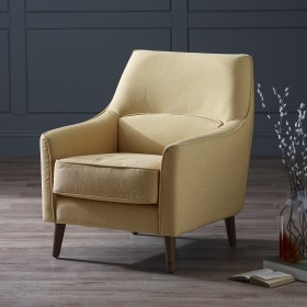 Harkan Armchair - Yellow