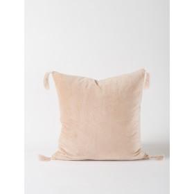Skasen Velvet Cushion - Pink