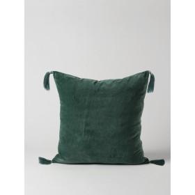 Skasen Velvet Cushion - Green
