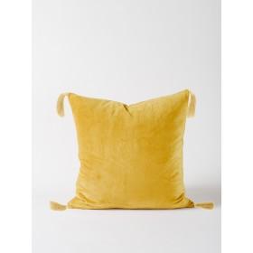 Skasen Velvet Cushion - Ochre
