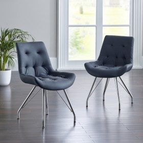 Bua Dining Chair - Black (Pair)
