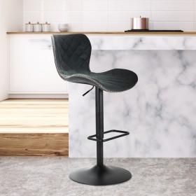 Fern Bar Stool - Charcoal Grey
