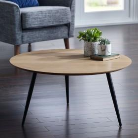 Baskan Coffee Table - OAK Veneer