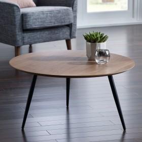 Baskan Coffee Table - WALNUT Veneer