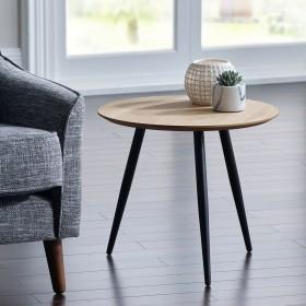Baskan Side Table - OAK Veneer