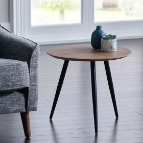 Baskan Side Table - WALNUT Veneer