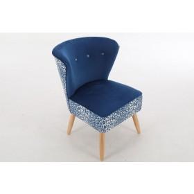 Nyami Chair - Blue Velvet