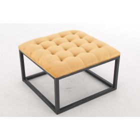 Falun Small Footstool - Mustard Yellow