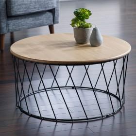 Svartan Coffee Table - Svartan Oak Coffee Table - LARGE