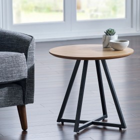 Ivalo Side Table - Ivalo Oak Side Table