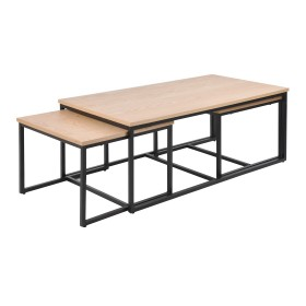 Kalix Oak Set Of 3 Nested Tables