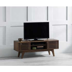 Copen TV Unit 120 Stand - Walnut