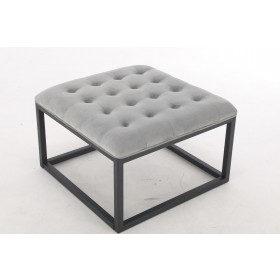 Falun Small Footstool - Seal Grey