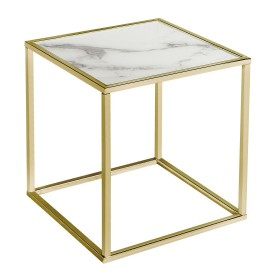 Swan Side Table - White and Gold