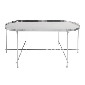 Oakland Chrome Oblong Coffee Table