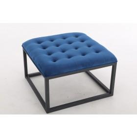 Falun Small Footstool - Midnight Blue