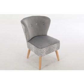 Nyami Chair - Seal Grey Velvet