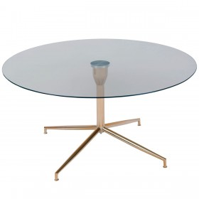 Roke Rose Gold Coffee Table