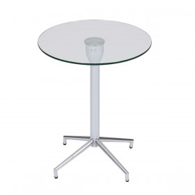 Roke Chrome Lamp Table