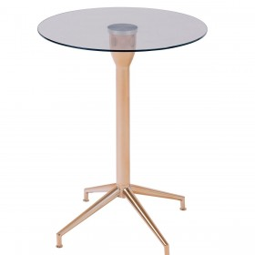 Roke Rose Gold Lamp Table