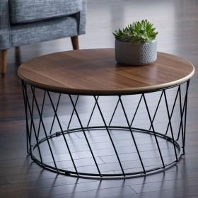 Svartan Coffee Table - Svartan Walnut Coffee Table - LARGE