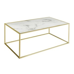Swan Coffee Table - White and Gold