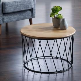 Svartan Coffee Table - Svartan Oak Coffee Table - SMALL
